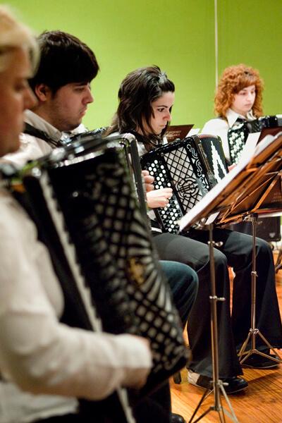 Akordeoi banda, Josu Murueta Kultur Etxean