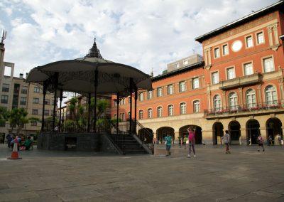 Ayuntamiento y kiosco de música